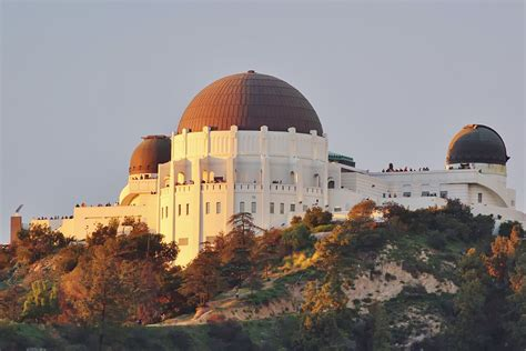 Visiting the Griffith Observatory Los Angeles