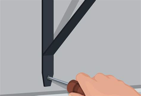 Install A Shelf by How To Install Stationary Brackets At The Home Depot