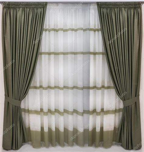 curtains thick thick curtains of wool fabric and translucent tulle with