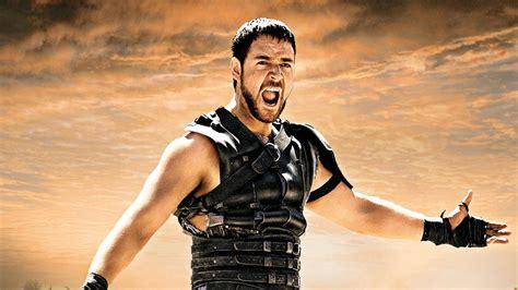 gladiator film hero name movie actor russell crowe in film gladiator desktop
