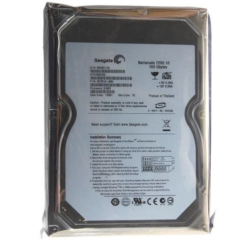 Hardisk Ide 160gb seagate style disk drive 160gb 3 5 quot ide pata 7200 rpm hdd fast speed ebay