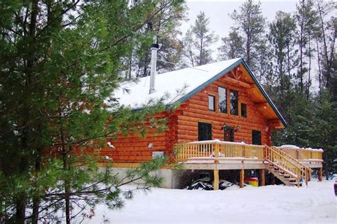 Handmade Log Cabin - unique handmade log cabin peaceful lake vrbo