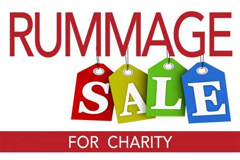 charity rummage sale the green