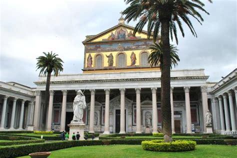 orari s paolo pope portraits picture of abbazia di san paolo fuori le