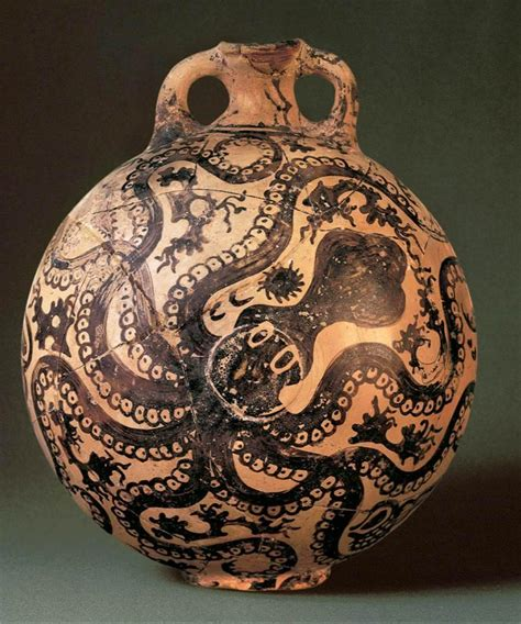 Octopus Vase Minoan by Aegean History Teaching Resources