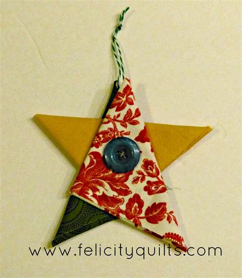 folded fabric ornaments tutorial folded fabric ornaments felicity quilts