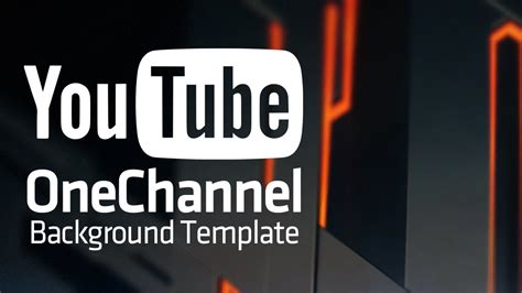 13 youtube template psd images youtube channel art