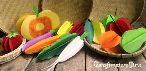 g fruits and vegetables craftventure time 3d paper fruits and vegetables