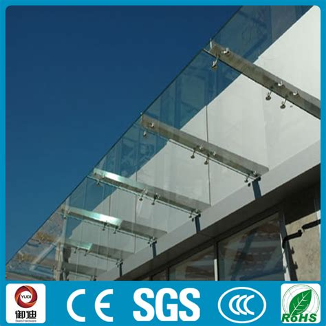 glass awning design modern design stainless steel front door glass canopy