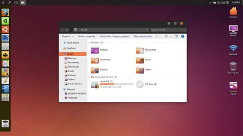 download themes ubuntu for windows 7 ubuntu skin pack skinpack customize your digital world