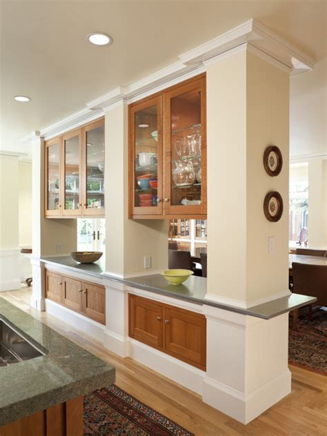 Kitchen Room Divider with Kitchen Divider Cabinets