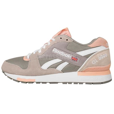 retro athletic shoes reebok gl 6000 athletic grey pink 2015 casual shoes retro