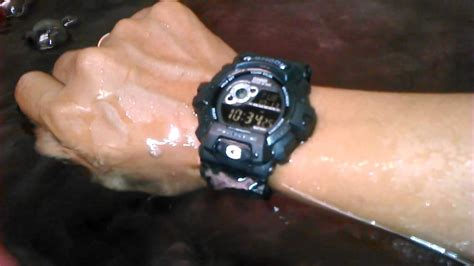 Jam Tangan G Shock Kw Tahan Air Test G Shock Kw Modifikasi Anti Air