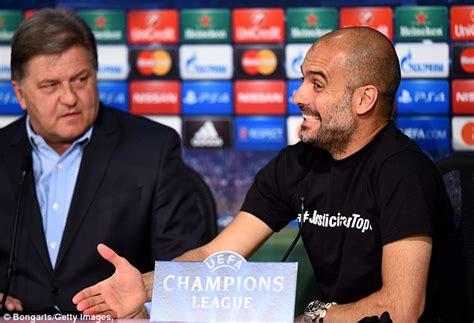 Kaos Bayern Munchen 04 pelatih bayern munchen ini pep guardiola terkena sanksi