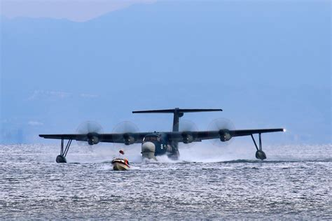 flying boat us 2 shinmaywa us 2 flying boat hibian 新明和us 2 水陸両用飛行艇 9905