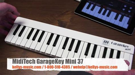 usb discover midi keyboard now you can learn and play garagekey mini 37 usb midi keyboard ipad mac pc youtube