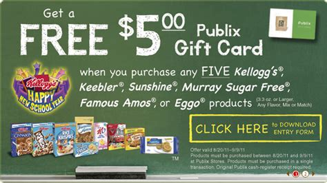 Where To Buy Publix Gift Cards - 5 publix gift card rebate faithful provisions