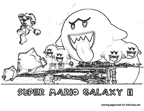 Wii U Coloring Pages by Mario Coloring Pages