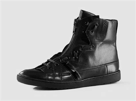 hugo high top sneakers hugo by hugo fall winter 2009 hi top sneaker
