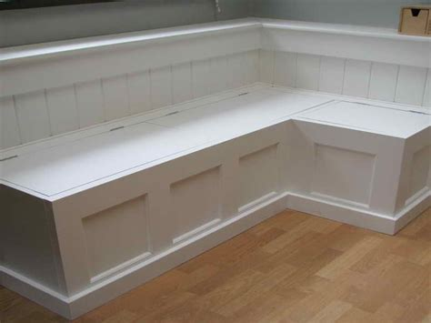 How To Build Banquette Seating With Storage by Planning Ideas Building A Banquette Bench Table