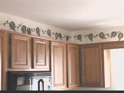 wallpaper borders kitchen ideas roselawnlutheran