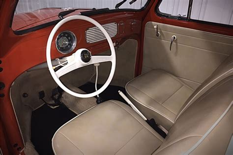 volkswagen sedan interior 1956 volkswagen beetle sunroof sedan 202149
