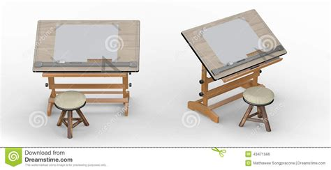 tavolo da disegno prezzi tavolo da disegno di legno con gli strumenti e le feci