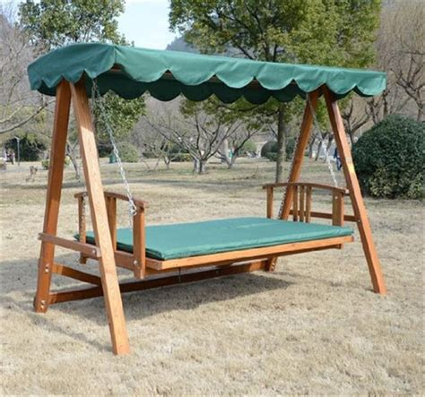swing garden chairs uk outsunny wooden garden 3 seater outdoor swing chair green