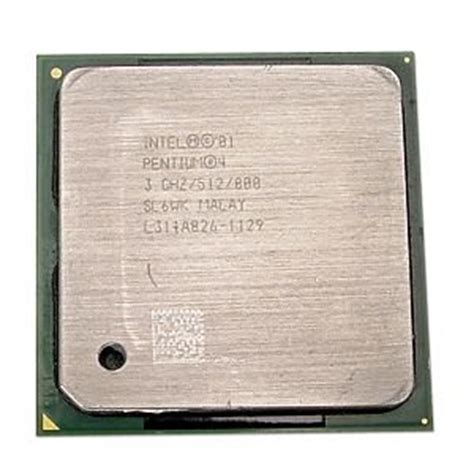 Pentium 4 Sockel 478 by Intel Pentium 4 3 0ghz 800mhz 512kb Socket 478 Cpu Computers Accessories