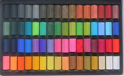 in pastels artists in pastel colour charts
