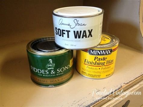 furniture wax over white paint to wax or not to wax over chalk paint three choices annie