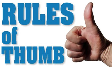 What Is The Rule Of Thumb For Buying A House 28 Images What Is The Rule Of Thumb