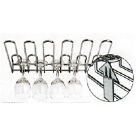 rastrelliera per bicchieri rastrelliera porta bicchieri fissaggio sospeso ipib