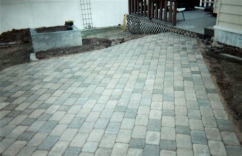 Simple Paver Patio Patios Fn Masonry