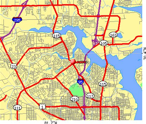 printable zip code map jacksonville fl jacksonville florida zip codes map 28 images duval