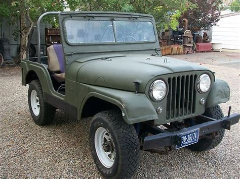 1963 Willys Jeep Sell Used 1963 Willys Jeep Cj5 All Original In Anaconda