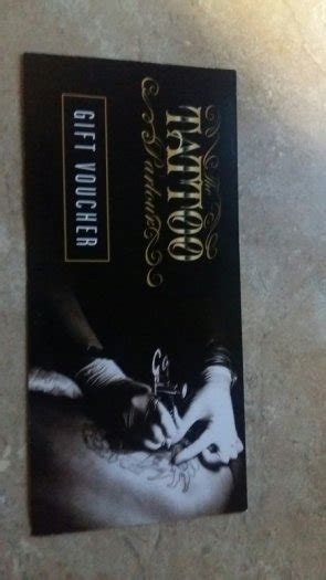 tattoo prices waterford tattoo voucher for the tattoo palour for sale in