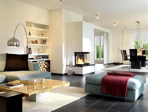 Schöner Wohnen Wohnzimmer Gestalten by Hersteller Bien Zenker Wohnbereich Mit Kamin Bild 2