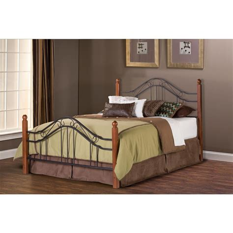 Hillsdale Bed Frame Hillsdale Furniture Textured Black Bed Frame