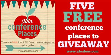 Conference Giveaways 2016 - conference giveaway winners are abc does