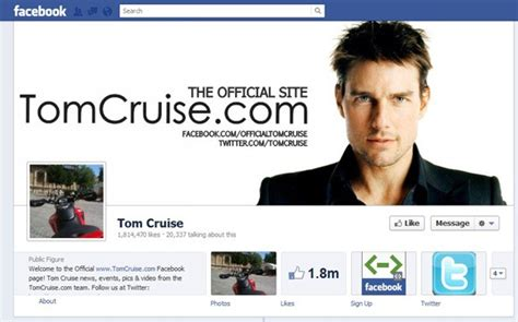 celebrity page on facebook facebook timelines of popular hollywood celebrities the