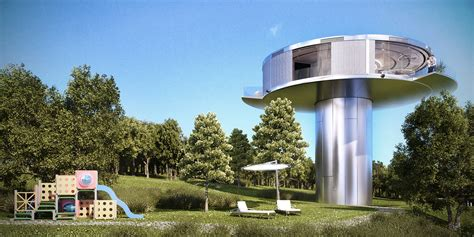 Ufo House by Ufo House Construction Modules Development And Manufacturing