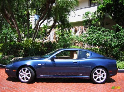 2003 Maserati Coupe Cambiocorsa by Nettuno Metallic Blue 2003 Maserati Coupe