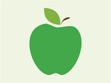 Apple Vector   apple vector icon vector art graphics freevector com