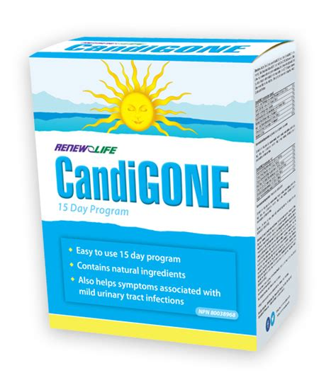 Forms Yeast To Detox by Candigone Cleansing Renew Canada