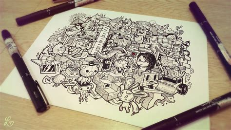 how to make a doodle with your name doodle architectural by leimelendres on deviantart