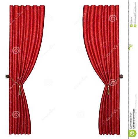 Roter Vorhang by Roter Vorhang Lizenzfreie Stockbilder Bild 30596229