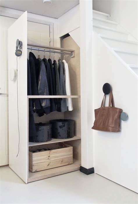 Stair Storage Closet by Picture Of Closet Drawers The Stairs