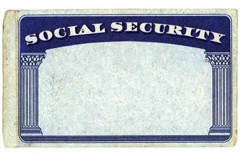 social security card template generator printable play credit card templates myth busting social