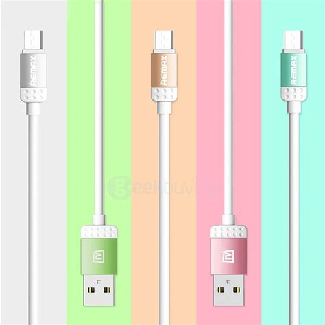 Remax Cable Data Charging For Android Martin Series remax lovely series micro usb cable charging data sync for android
